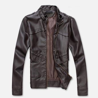 Picture of Men Leather Jacket