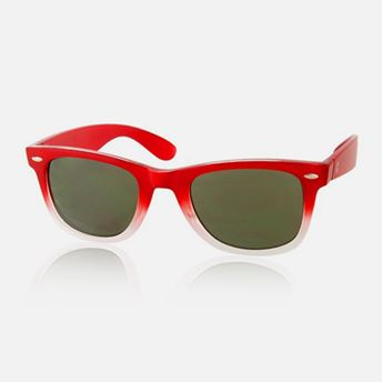Picture of Red-White Summer Sunglasses